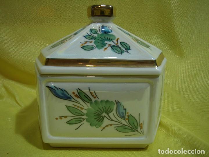 Coleccionismo: Juego fumador cerámica, pintado a mano, años 80, Nuevo sin usar. - Foto 14 - 247495355