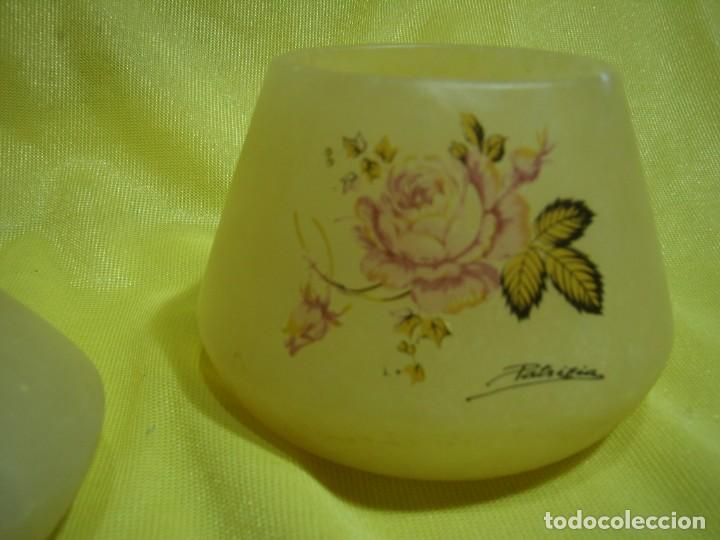Coleccionismo: Juego fumador alabastro, de alabastros San José, años 70, Nuevo sin usar. - Foto 4 - 247497095