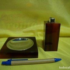 Coleccionismo: JUEGO FUMADOR METRAQUILATO MARRÓN, AÑOS 80, NUEVO SIN USAR.. Lote 247500315