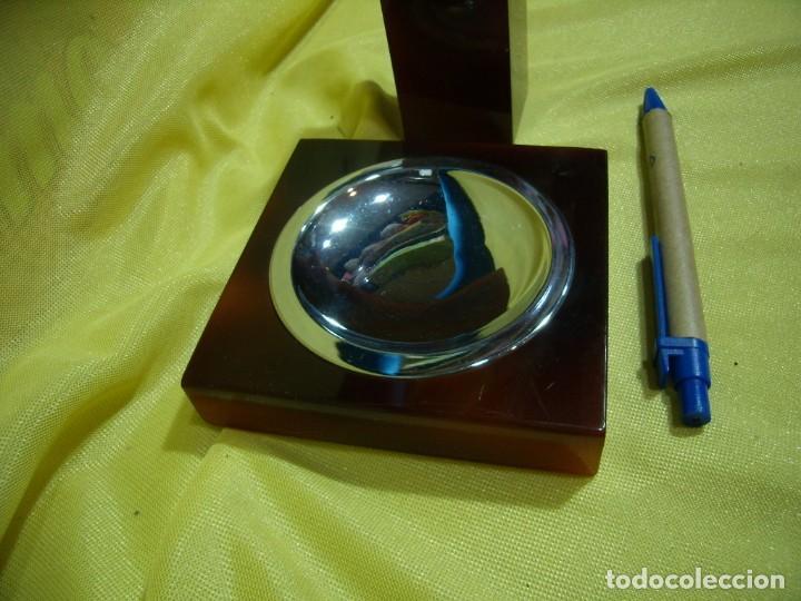 Coleccionismo: Juego fumador metraquilato marrón, años 80, Nuevo sin usar. - Foto 2 - 247500315