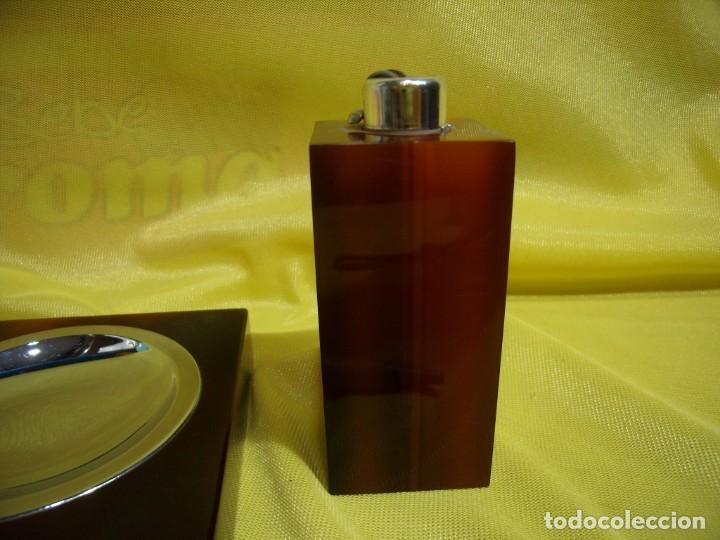 Coleccionismo: Juego fumador metraquilato marrón, años 80, Nuevo sin usar. - Foto 3 - 247500315