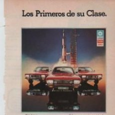 Coleccionismo: ANUNCIO PUBLICIDAD AUTOMOVILES CHRYSLER. Lote 247663155