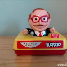 Collectionnisme: JUGUETE RADIO TALKING MAN MUSIC MAN. Lote 247767920