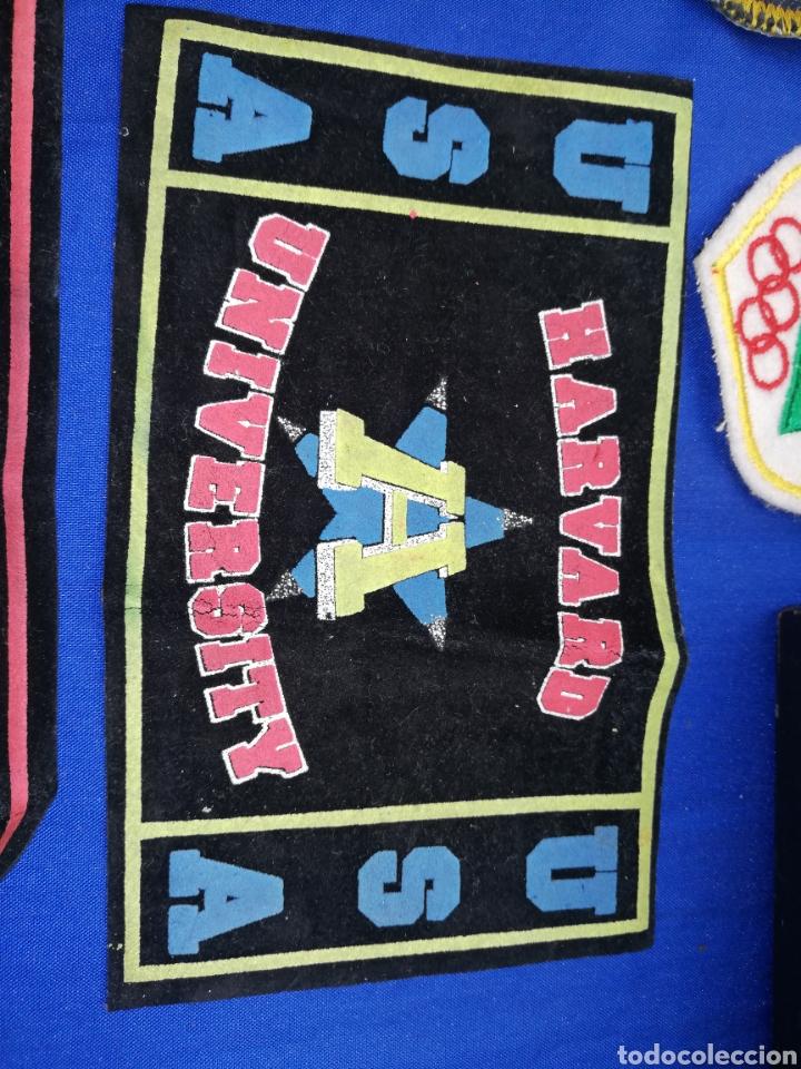 Coleccionismo: Parche.. Escudos.. de telas de las universidades de HARVARD Y CAMBRIDGE - Foto 2 - 247816215