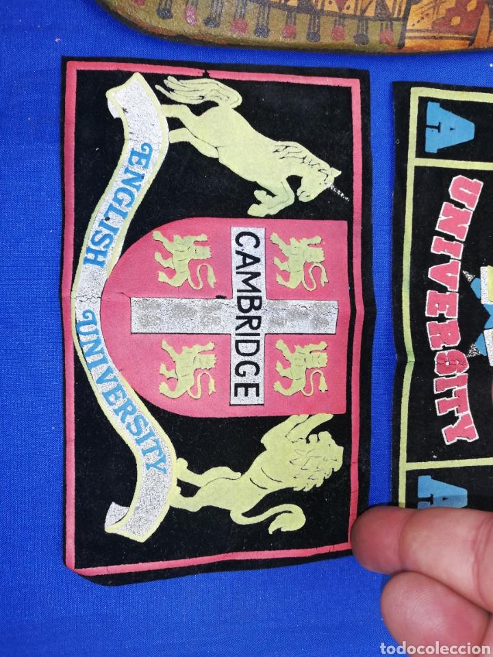 Coleccionismo: Parche.. Escudos.. de telas de las universidades de HARVARD Y CAMBRIDGE - Foto 3 - 247816215
