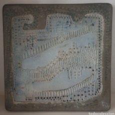 Coleccionismo: ANTONI CUMELLA PLACA GRES. Lote 247916170