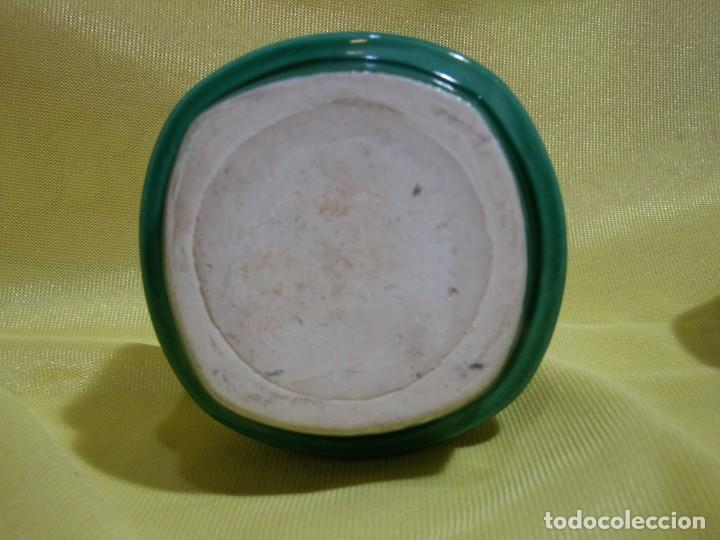 Coleccionismo: Juego fumador cerámica verde, años 70, Nuevo sin usar. - Foto 6 - 248265940