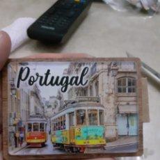 Coleccionismo: IMAN NEVERA NUEVO PORTUGAL TRANVÍA. Lote 248305870