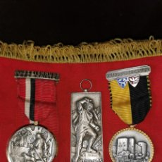 Coleccionismo: LOTE MEDALLAS SUIZAS. AÑOS 50-70. Lote 101236399