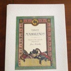 Coleccionismo: 24 LÁMINAS TIPOS MADRILEÑOS DIBUJADOS POR JOSÉ RIBELLLES. REPRODUCCIÓN. 1999. Lote 249156945