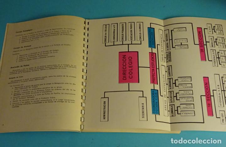 Coleccionismo: COLEGIO DE LA CÍA. SANTA TERESA DE JESÚS. TERESIANAS. VALENCIA CURSO 1974 - 75 - Foto 3 - 222568820