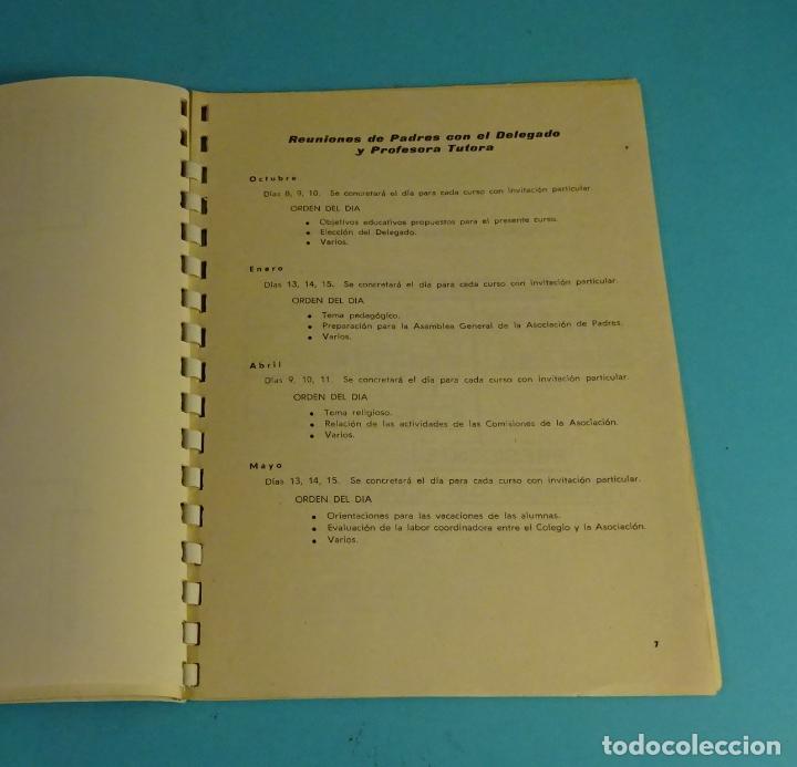 Coleccionismo: COLEGIO DE LA CÍA. SANTA TERESA DE JESÚS. TERESIANAS. VALENCIA CURSO 1974 - 75 - Foto 4 - 222568820