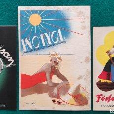 Coleccionismo: PEDRO MAIRATA ILUSTRADOR DISEÑO GRÁFICO PUBLICIDAD FÁRMACO LOTE 3 AÑOS '40. Lote 251161965