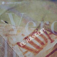 Coleccionismo: VERDI -TEMPORADA 2001-2002. PROGRAMA DE MÚSICA. GRAN TEATRE DEL LICEU. GENERALITAT -. Lote 251406315