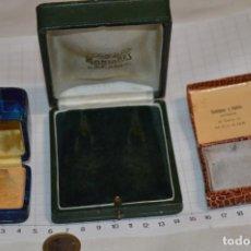 Coleccionismo: ANTIGUO - LOTE DE 3 CAJAS / ESTUCHES - COLORES / FORMATOS Y TIPOS VARIADOS ¡MIRA FOTOS / DETALLES!. Lote 251424905