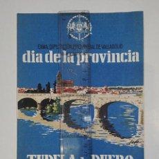 Coleccionismo: TUDELA DE DUERO. 1964. DÍA DE LA PROVINCIA.. Lote 251428970