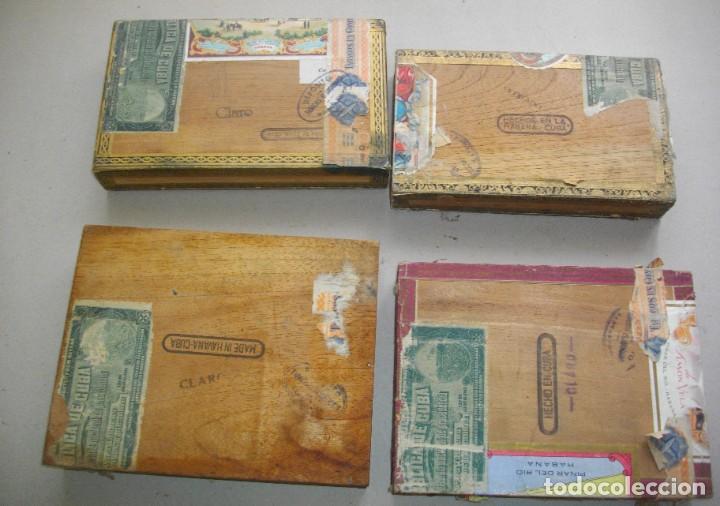 Coleccionismo: COLECCION CAJAS PUROS HABANOS CUBA (( 5 CAJAS ANTI )FLORINDA- MONTERO- FLOR PILOTOS-ETC - Foto 3 - 251662335