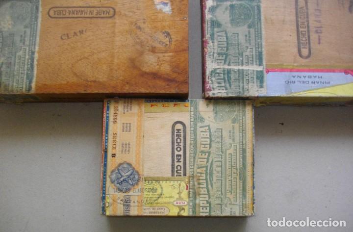 Coleccionismo: COLECCION CAJAS PUROS HABANOS CUBA (( 5 CAJAS ANTI )FLORINDA- MONTERO- FLOR PILOTOS-ETC - Foto 4 - 251662335