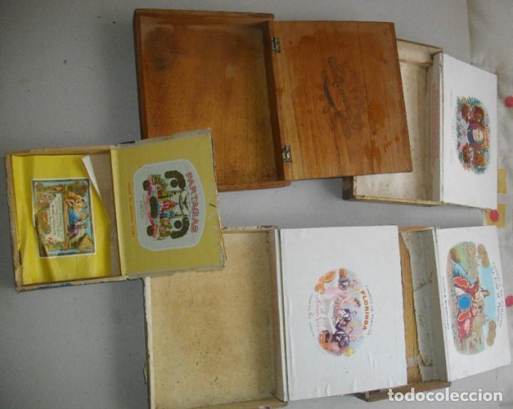 Coleccionismo: COLECCION CAJAS PUROS HABANOS CUBA (( 5 CAJAS ANTI )FLORINDA- MONTERO- FLOR PILOTOS-ETC - Foto 5 - 251662335