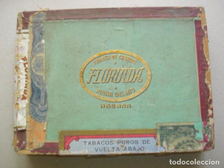 Coleccionismo: COLECCION CAJAS PUROS HABANOS CUBA (( 5 CAJAS ANTI )FLORINDA- MONTERO- FLOR PILOTOS-ETC - Foto 6 - 251662335