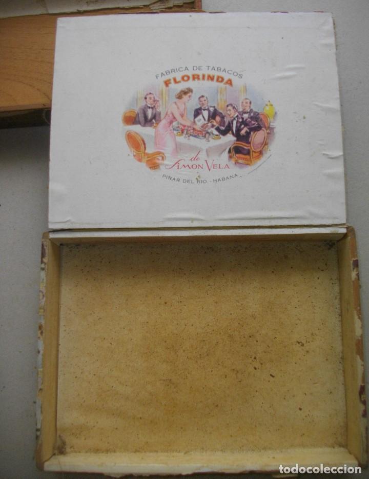 Coleccionismo: COLECCION CAJAS PUROS HABANOS CUBA (( 5 CAJAS ANTI )FLORINDA- MONTERO- FLOR PILOTOS-ETC - Foto 7 - 251662335
