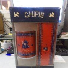 Coleccionismo: CHIPIE COLLEGE ENRI SET METALICO CONTIENE PLUMIER Y CUBILETE. Lote 251831175