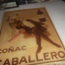 Colecionismo: RECORTE PUBLICIDAD AÑO 1931-BRANDY-COÑAC CABALLERO -JEREZ-.ACTRIZ ESPAÑOLA ANA MARIA CUSTODIO. Lote 252361410