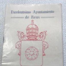 Coleccionismo: PROGRAMA DE LA FIESTA MAYOR DE REUS, TARRAGONA. 1952. Lote 253148410