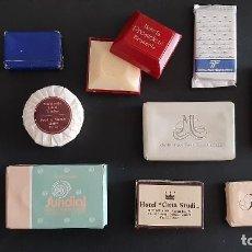 Coleccionismo: PASTILLAS DE JABÓN DE VIAJES. Lote 253508735