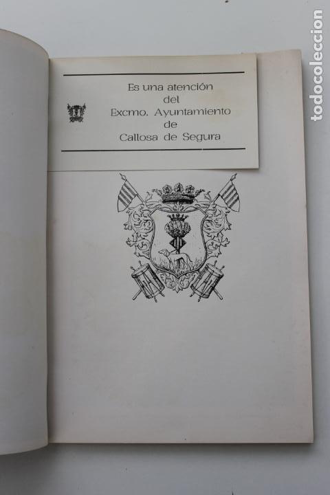 Coleccionismo: PROGRAMA FIESTAS DE SAN ROQUE 1974, CALLOSA DEL SEGURA, ALICANTE - Foto 4 - 253598615