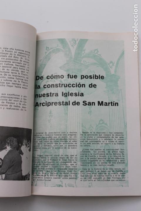Coleccionismo: PROGRAMA FIESTAS DE SAN ROQUE 1974, CALLOSA DEL SEGURA, ALICANTE - Foto 6 - 253598615