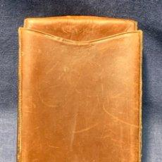 Coleccionismo: PITILLERA ESTUCHE PIEL DOS MITADES L. CHACON UBRIQUE CADIZ MITAD S XX 16X10CMS. Lote 254205010