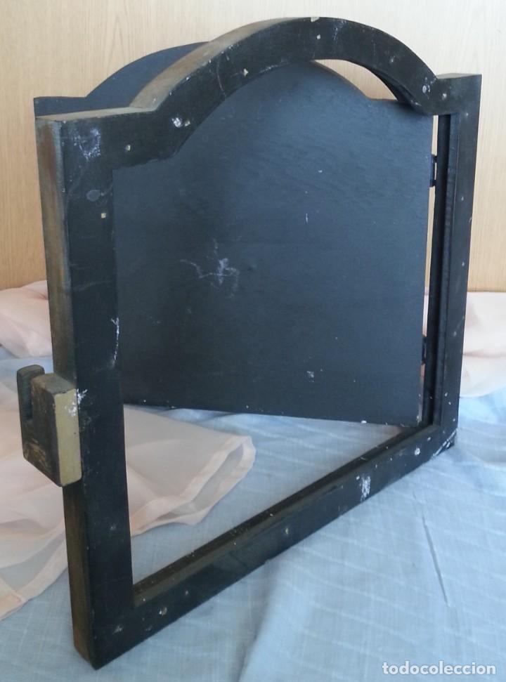 Coleccionismo: Puerta de Horno en madera. Objeto ficticio. - Foto 8 - 254364110