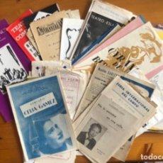 Colecionismo: MADRID- TEATRO- ESPECTACULOS- LOTE DE 55 PROGRAMAS AÑOS 1950- 1970. Lote 254568985