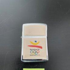 Coleccionismo: ENCENDEDOR ZIPPO BARCELONA 92 - OLIMPIADAS JUEGOS JOCS MECHERO OLÍMPICO LIGHTER. Lote 254629375