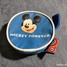 Coleccionismo: ESTUCHE MONEDERO PEQUEÑO DE MICKEY MOUSE, MICKEY FOREVER. Lote 254761110