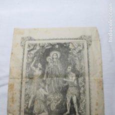 Coleccionismo: NTRA. SRA. DE CANDELARIA TENERIFE 1889, IMP. ISLEÑA A CARGO DE MANUEL F. GARCIA. Lote 254921095