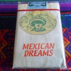 Coleccionismo: PRECINTADA, CAJETILLA MEXICAN DREAMS DE CIGARRILLOS CIGARRILLO DE CHOCOLATE. PRECIOSA Y MUY RARA.. Lote 256139655