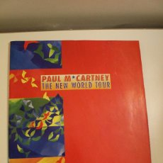 Coleccionismo: PAUL MC CARTNEY - PROGRAMA TOUR - NEW WORLD TOUR 1993 - IMPECABLE. Lote 257559755