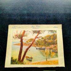 Coleccionismo: LAMINA CON MOTIVO PAISAJE. Lote 257694185
