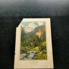 Coleccionismo: LAMINA CON MOTIVO PAISAJE. Lote 257694235