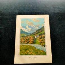 Coleccionismo: LAMINA CON MOTIVO PAISAJE. Lote 257694265