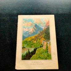 Coleccionismo: LAMINA CON MOTIVO PAISAJE. Lote 257694290