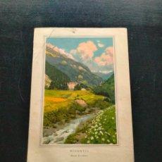Coleccionismo: LAMINA CON MOTIVO PAISAJE. Lote 257694365