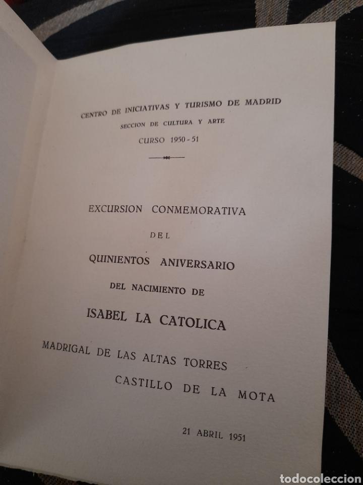 Coleccionismo: Dictico de quinientos aniversario del nacimiento de Isabel la Catolica - Foto 2 - 257979415