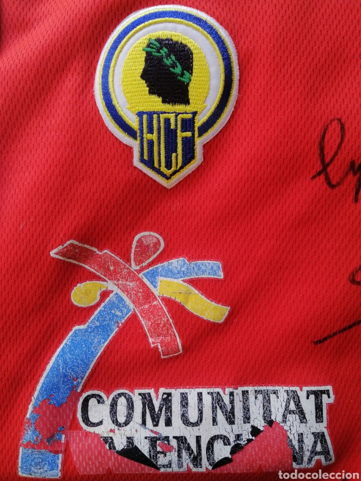 Coleccionismo: Hercules de Alicante camiseta fútbol firmada ascenso 2011 - Foto 2 - 260487885