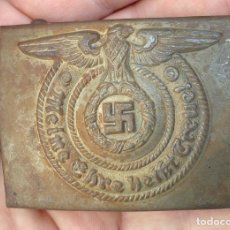 Coleccionismo: HEBILLA DE WAFFEN SS , TERCER REICH, ADOLF HITLER. Lote 288743808