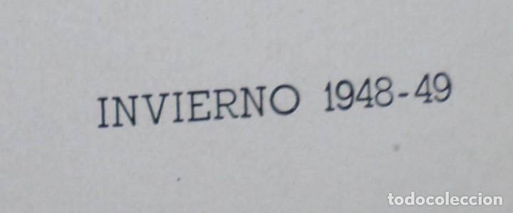 Coleccionismo: Lamina de moda hombre -- invierno 1948 - 49 - Foto 2 - 261283810