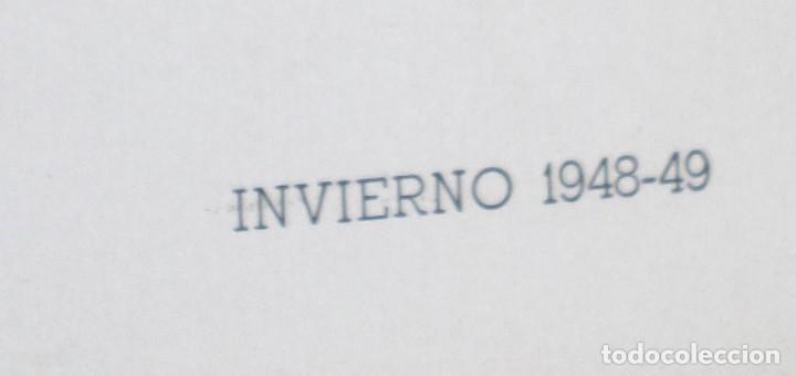 Coleccionismo: Lamina de moda hombre -- invierno 1948 - 49 - Foto 2 - 261284110