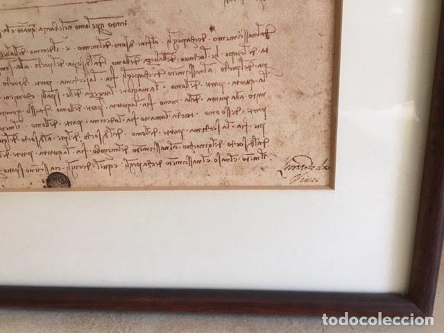 Coleccionismo: Poster del Iconic Vitruvian Man de Leonardo - Foto 3 - 261284905